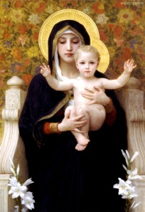 Madonna and the child Jesus