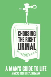 """Choosing the Right Urinal"" Micro Book"
