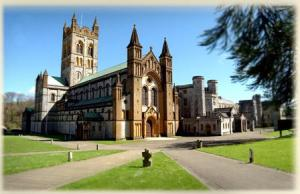 The church of Buckfast Abbey