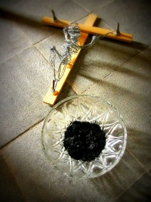 The ash and the Cross