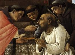 The last Communion of St Jerome
