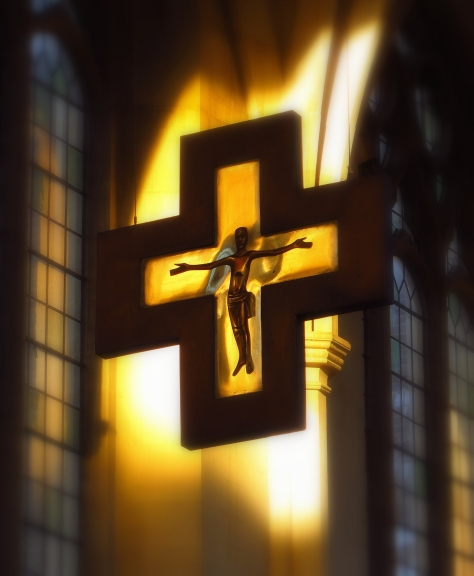 Crucifix, Douai Abbey Church