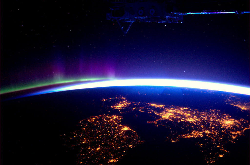 Britain & Ireland from the ISS