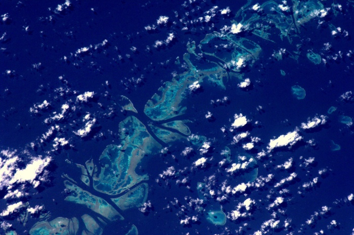 The Great Barrier Reef from the ISS