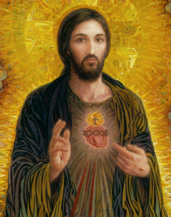 sacred heart of jesus smith catholic art
