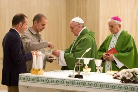 mass at domus