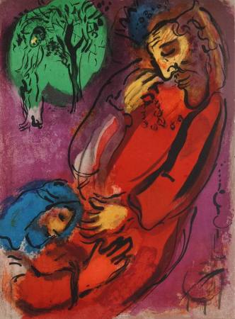 King David and Absalom, by Marc Chagall