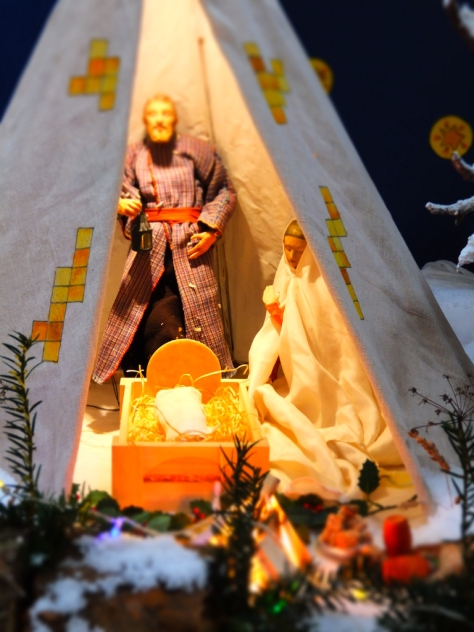 Douai Abbey crib 2013
