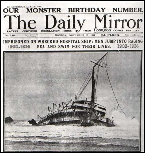 Sinking of the Rohilla