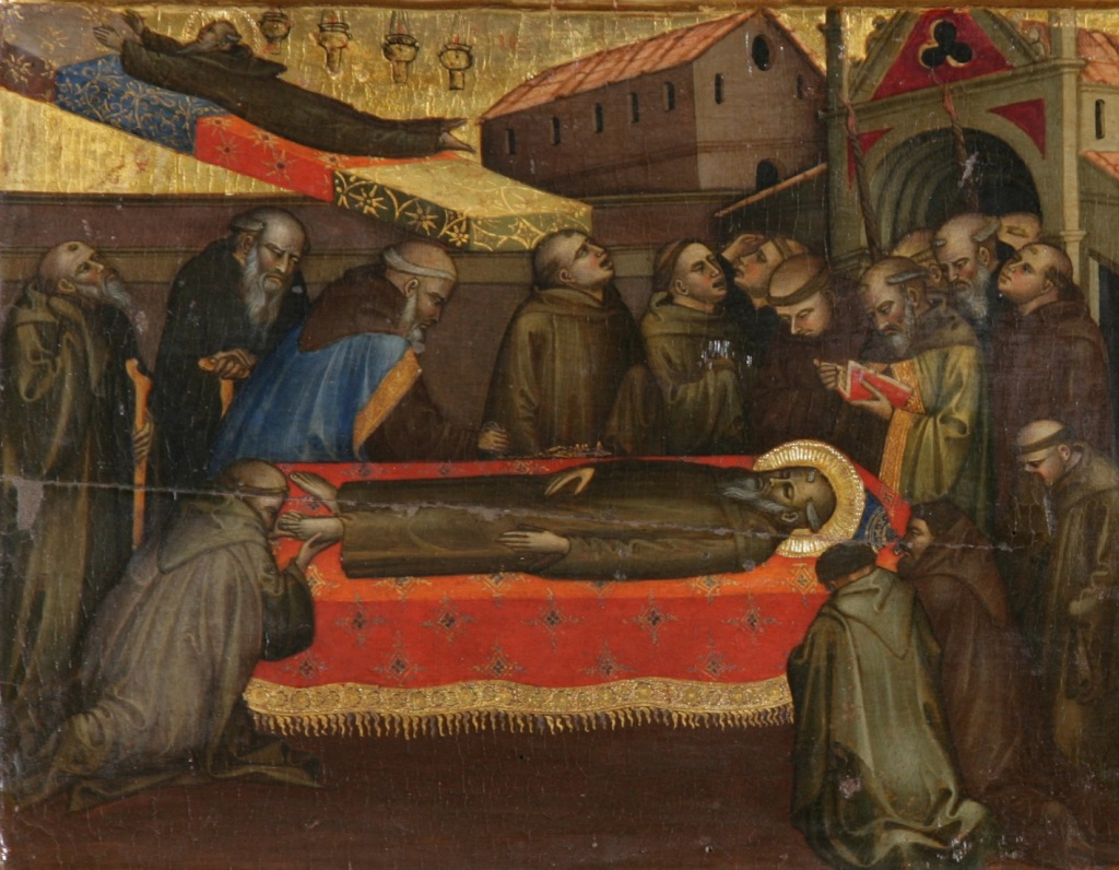 The Passing to the next life of St Benedict