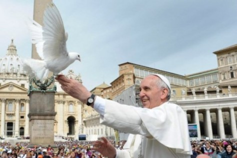 Pope Francis eschews bats and prefers doves.