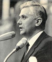 Fr Josef Ratzinger in 1966