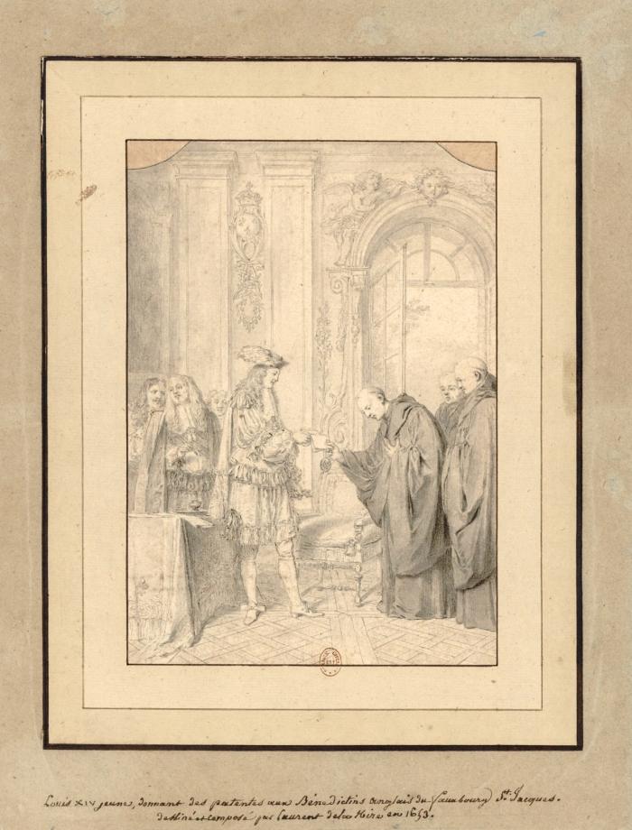Louis XIV at St Edmunds, Hire,1653 EDITED 2