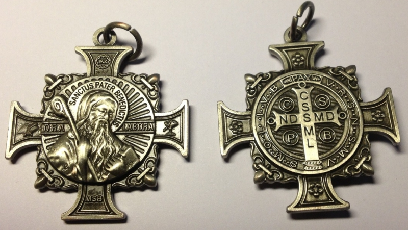 The Holy Grail of Holy Medals – Dominus mihi adjutor