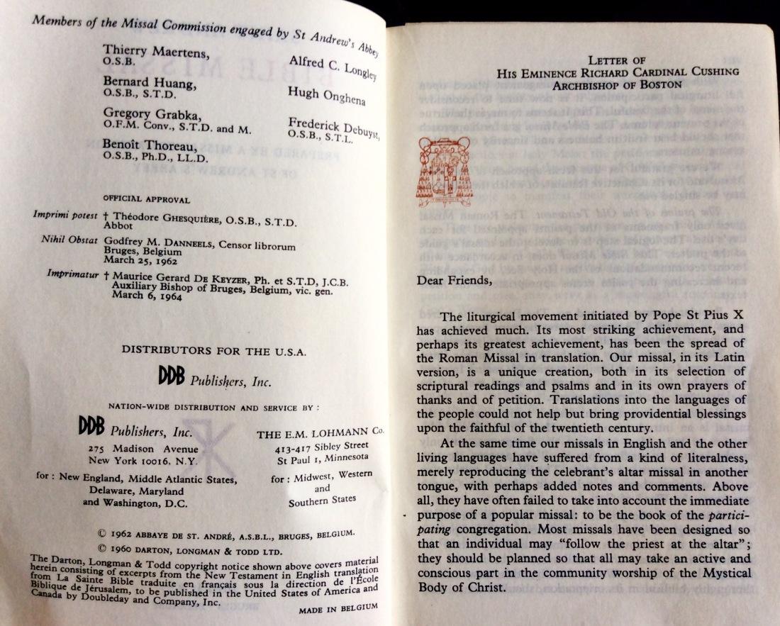 Missals in the Monastery Cupboard—2 – Dominus mihi adjutor